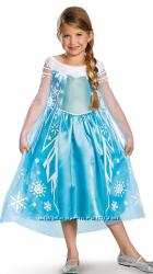Платье Эльзы 10-12 лет