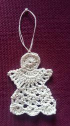 Ангел декор сувенир брелок игрушка Hand made