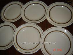 Тарелки десертные Городницкого фарфорового завода