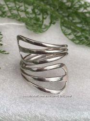 Кольцо серебряное Зара