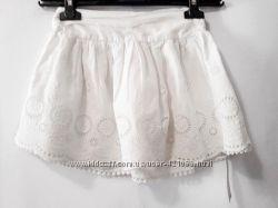 Шикарная юбочка , натуральная ткань 3-4года