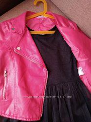 Платье Page Новое черное девочка 10-12 лет146-152см