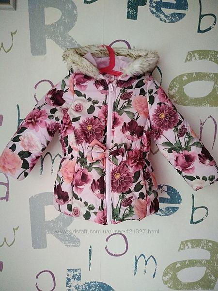 новая Куртка e-Vie девочка 3 года 98см