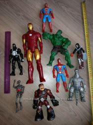 Железный человек Hasbro, Халк Marvel, человек паук Hasbro и другие