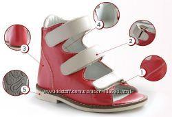 Детская ортопедическая обувь БЕРЕГИНЯ в наличии