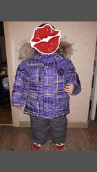 Срочно продам зимний костюм на мальчика 1-3 года