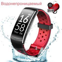 Фитнес браслет тонометр Q8 для iPhone, Android калории, шаги, сон, бег