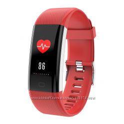 Фитнес браслет с тонометром давления крови F07plus iPhone Android калории