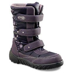 Зимние ботинки с мембраной Richter для девочки