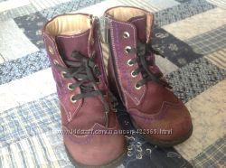 Зимние детские ботинки, 24разм, хорошее состояние