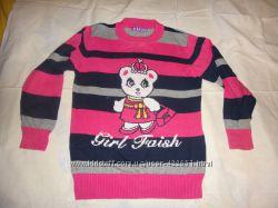 Красивый свитер р. 116