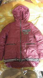 Зимняя куртка-парка р. 140