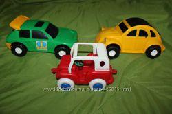 Набор игрушек крупные машинки Тигрес и Viking Toys качественный пластик