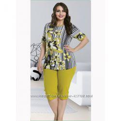 Пижамы турецкой тм Lady Lingerie большие размеры