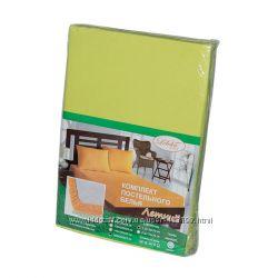 Комплекты простынь на резинке 160-200 см и наволочки 50-70 Leleka-Textile