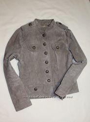 Essentials замшевый натуральный пиджак жакет куртка