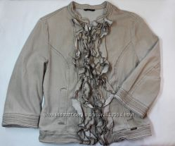 Sisley пиджак ветровка без подкладки женский IT 42  M
