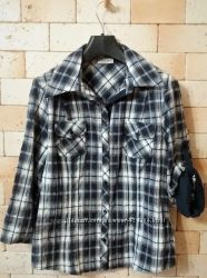 Canda C&A рубашка новая жатая ткань