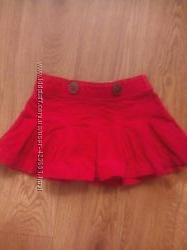 Красная юбочка
