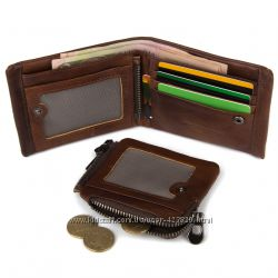 Кожаный кошелек трансформер для мужчины ESIPOSS Натуральная кожа.