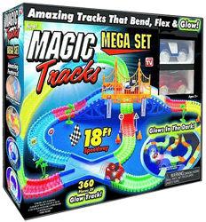 Гоночный трек Magic Tracks с мостом 360 дет. , Мэджик Трек