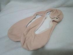 Балетки для танцев тканевые кожаные Гришко