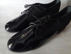 Танцювальні туфлі для бальних танців для хлопчика р.37-38