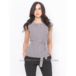 Летняя блуза с декором новая152-158р 40-42р