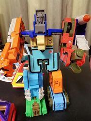 Робот трансформер цифри