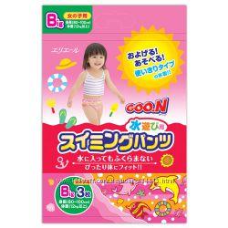 Трусики -памперсы для бассейнов, речек , озёр 80-100см  рост ребёнка , 3 шт