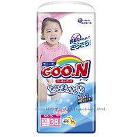 Подгузники-трусики Goon для девочек XL 12-20 кг 38 шт