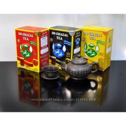 Чай Цейлонский Do Ghazal Две газели Акбар  Akbar 500г дугазал сорный