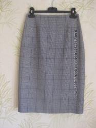 Юбка карандаш L. К. BENNETT London, шерсть меринос, merino wool, 34, XS