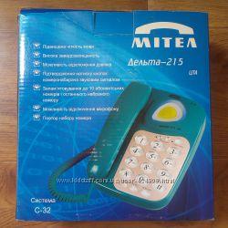 Цифровой телефонный аппарат Дельта-215, МІТЕЛ, система С-32, 2 шт.