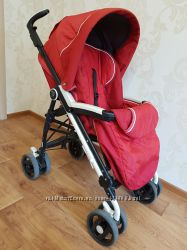 Прогулочная коляска Peg-Perego Pliko P3 Geranium Compact Completo 2011