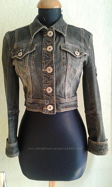 Джинсовая курточка-пиджак Next на S в отл сост