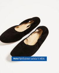 балетки натуральный замш Zara оригинал