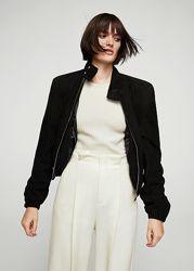 замшевая женская куртка m-xl mango оригинал
