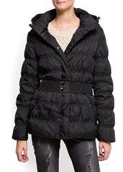 женский зимний короткий пуховик, куртка  m-l mango оригинал