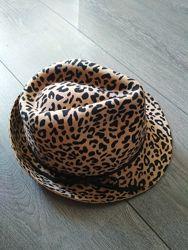 женская леопардовая шляпа шерсть Mango оригинал