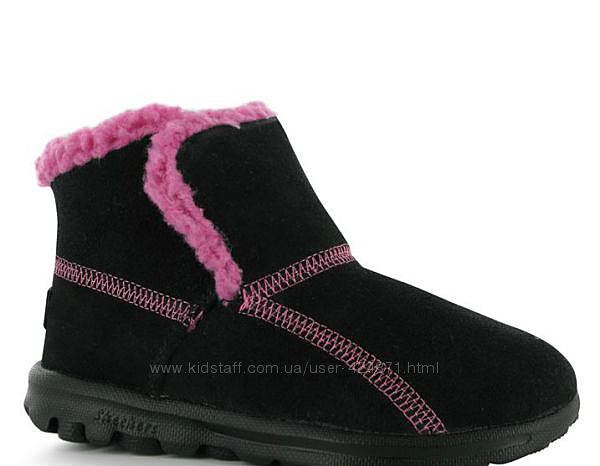Детские зимние замшевые угги ботинки для девочки 29-30, 31-32, 32, 5-33, 5
