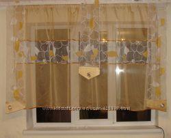 Комплект тюль и панельки до додоконника, 70-2к, 70-8к, 793к