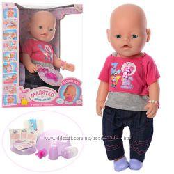 Кукла пупс Бейби Борн Baby Born 9 функций магнитная соска