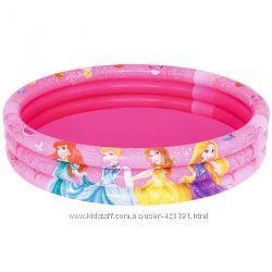 Бассейн Bestway Disney Minnie 102см Princess 122см Принцессы Минни