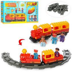 Железная дорога конструктор Для Малышей