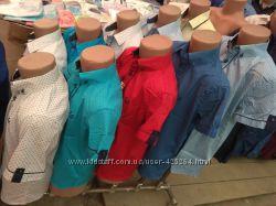 Модельные рубашки с двойным воротником, на кнопках, Bagin, Lagard, Verton