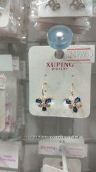 Яркие и милые серёжки для детских ушек из медсплава Xuping