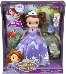 Кукла Disney Sofia The First Talking Sofia and Animal Friends