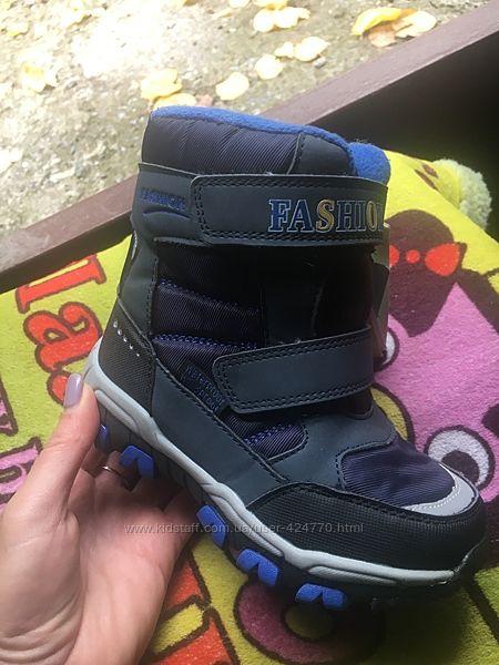 Термо ботинки от Tom. M 2модельки