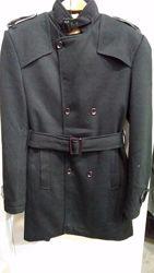 Трикотажное полу пальто